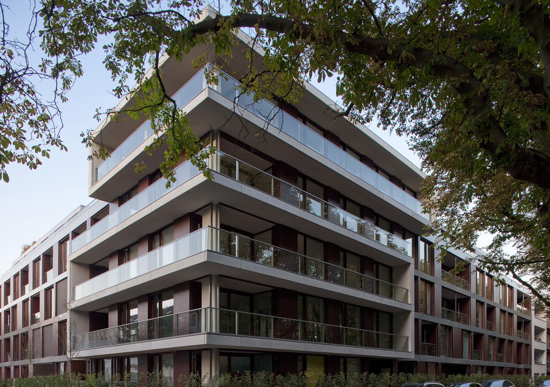 wohnanlage clarenbachkanal k ln lindenthal wrede architekten. Black Bedroom Furniture Sets. Home Design Ideas